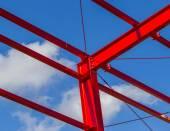 Stahlsäule — Stockfoto