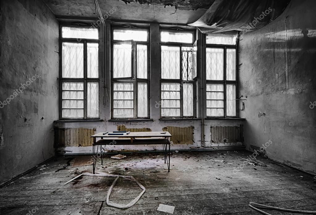 Abandoned school room