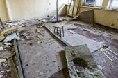 The devastated room — Stock Photo