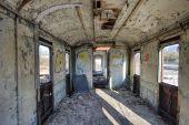 The railway wagon — Stock Photo