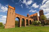 The castle in Kwidzyn — Stock Photo