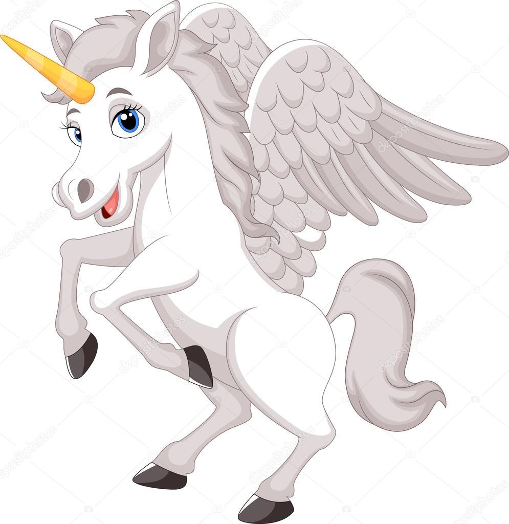 Unicornio De Dibujos Animados Archivo Im 225 Genes