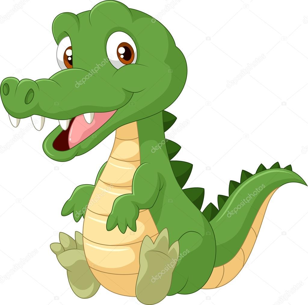 Crocodile dessin anim mignon image vectorielle tigatelu 63462185 - Dessin anime de crocodile ...