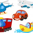 Cartoon transportation collection — Stock Vector #63509709