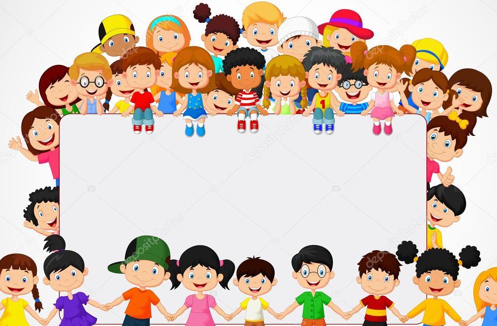 Kids Friends Cartoons