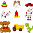Carton Kid's toy collection — Stockvector  #70907651