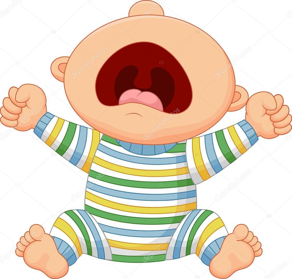 Dessin anim b b gar on pleure image vectorielle tigatelu 70912179 - Fotos van de bebe garcon ...