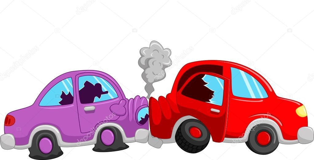 Accident de voiture de dessin anim image vectorielle 73709463 - Accident de voiture dessin ...