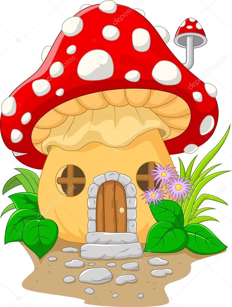 Сказочный домик нарисованные 163