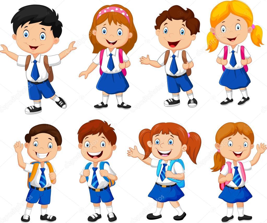 illustration of school children cartoon stock vector necktie clip art free necktie clip art free images