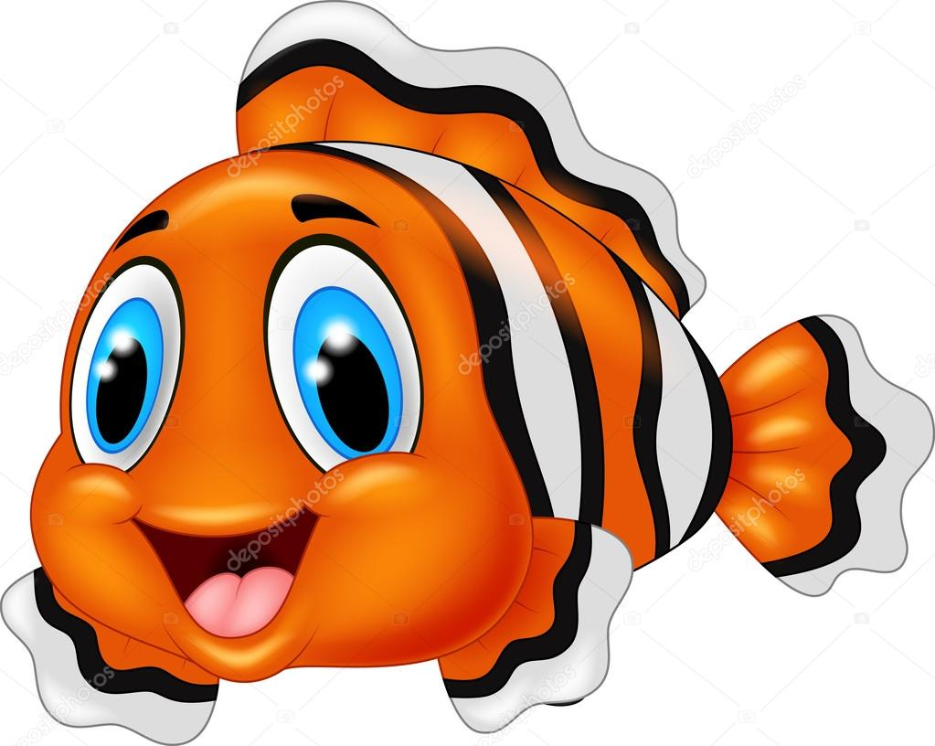 clown fish cartoon