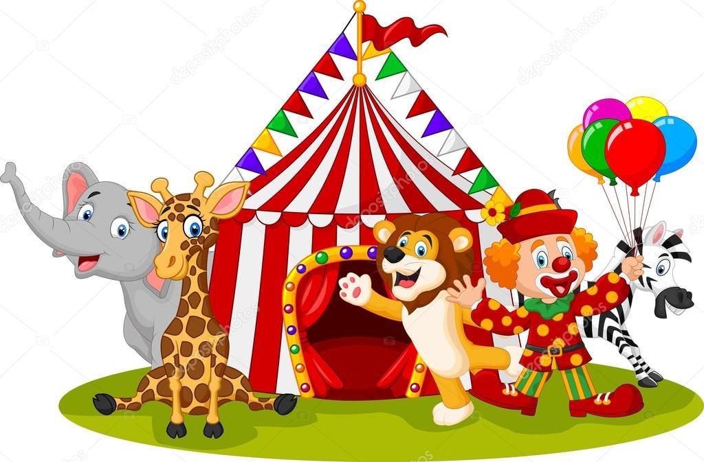 Resultado de imagem para circo com os palhaços