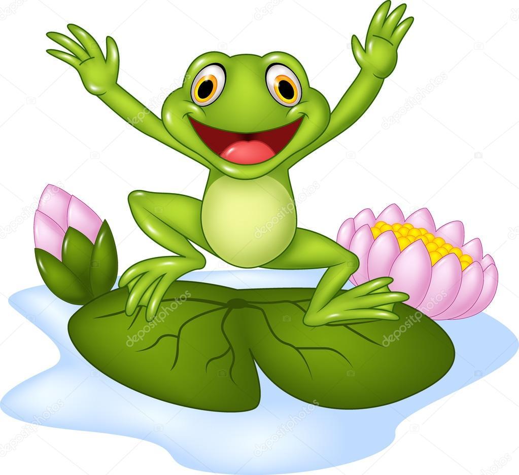 rana feliz de dibujos animados saltar sobre un nen u00fafar archivo im u00e1genes vectoriales  u00a9 tigatelu dragonfly clip art border dragonfly clip art images