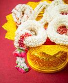 Thai garlands — Stock Photo