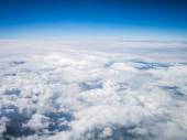 Aerial cloudscape in stratosphere — Stock Photo