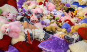 Soft toys — Stock Photo