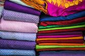 Textile on sale — Stock Photo