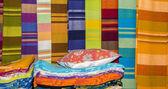 Fabric on sale — Stockfoto