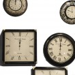 Different wall clocks — Stock Photo #67262133
