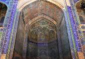Beautiful Gate of Ulugh Beg Madrasah (UNESCO World Heritage site — Stock Photo