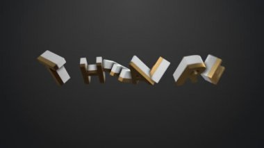 Illustrating theatre term — Stock Video