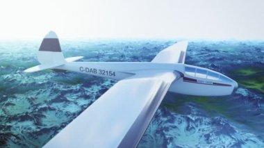Létající vojenské Predator Drone — Stock video