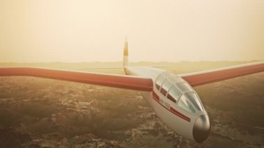 Полеты военных Predator Drone — Стоковое видео