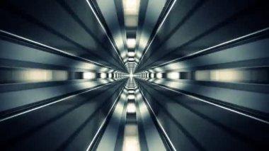 Elevator shaft loopable animation. — Stock Video