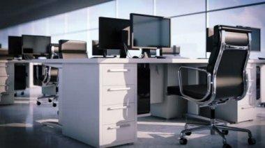 Moderne kantoorruimte. — Stockvideo