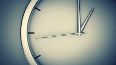 Анимация современные часы. — Стоковое видео