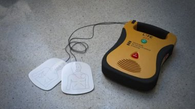 Automated External Defibrillator — Stock Video