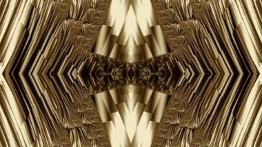 Prospective fractal movement in monochrome, background screensaver. — Stock Video