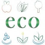 ������, ������: Small set of environmental icons