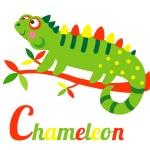 Chameleon — Stock Vector #68565633