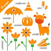 オレンジ — ストックベクタ