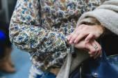 Woman getting a bracelet — Stock Photo