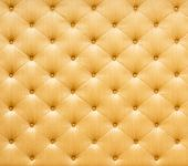 Golden color sofa cloth texture — Stockfoto
