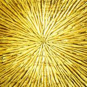 Zlatá barva dřeva vyřezal — Stock fotografie