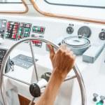 Boat steering — Stock Photo #58920887