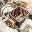 Sewer installation in city — Stock Photo #58924649