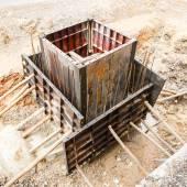 Sewer installation in city — Zdjęcie stockowe