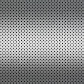 Gradient white color Perforated metal sheet — Stock Photo