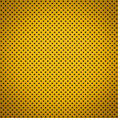 Gradient Golden color Perforated metal sheet — Fotografia Stock