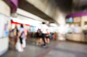 Abstract blurred people — Foto de Stock