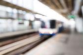 Abstract blurred train — Stockfoto