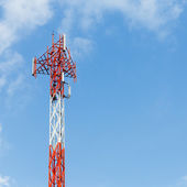 Antenna repeater — Stock Photo