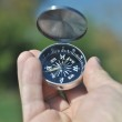 Compass in the palm of your hand. — Stock Photo #56653673