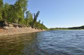 River landscape in the Urals. — Stock Photo