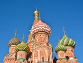 St Basil's Basilica - the world cultural heritage of UNESCO. — Stock Photo