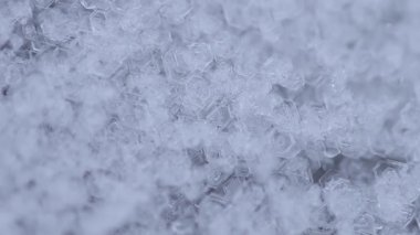 Frozen water crystals — Wideo stockowe